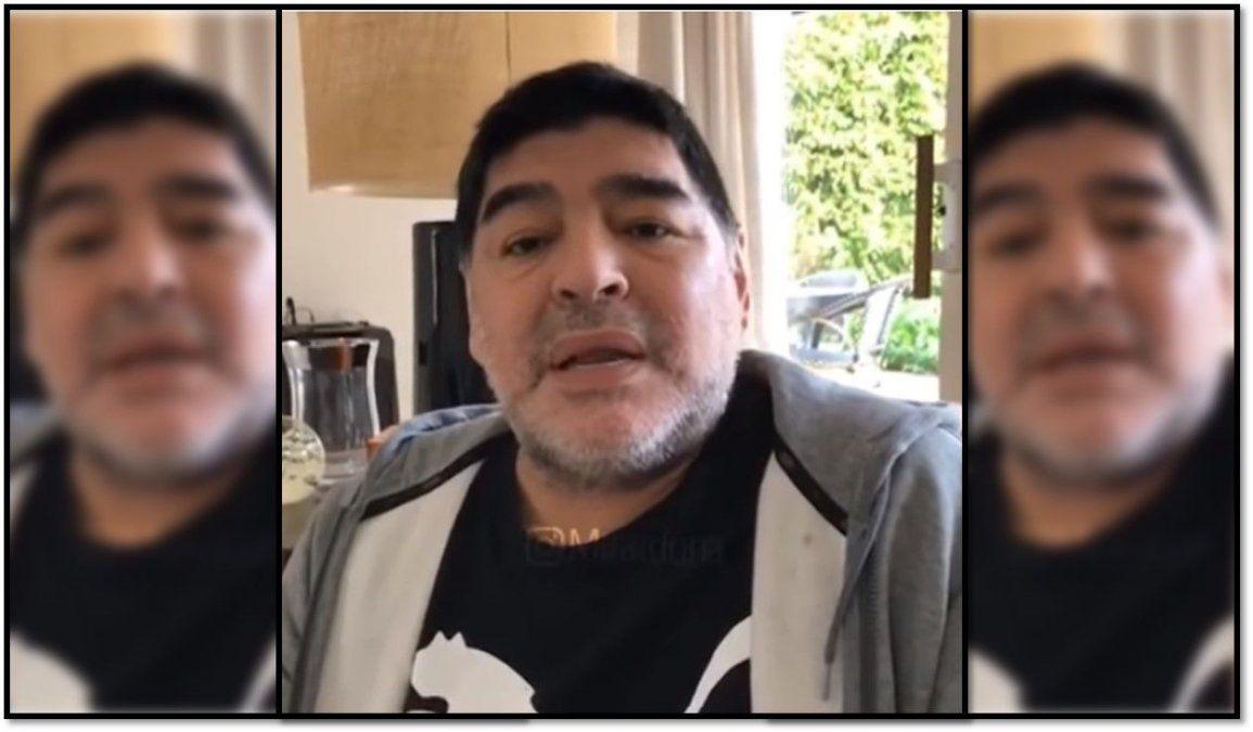 Diego Maradona rompió el silencio y habló de su salud: No me estoy muriendo