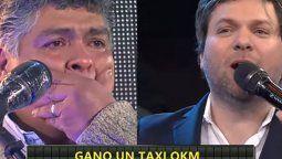 Guido Kaczka se desbordó al ver que un taxista ganó en Bienvenidos a bordo
