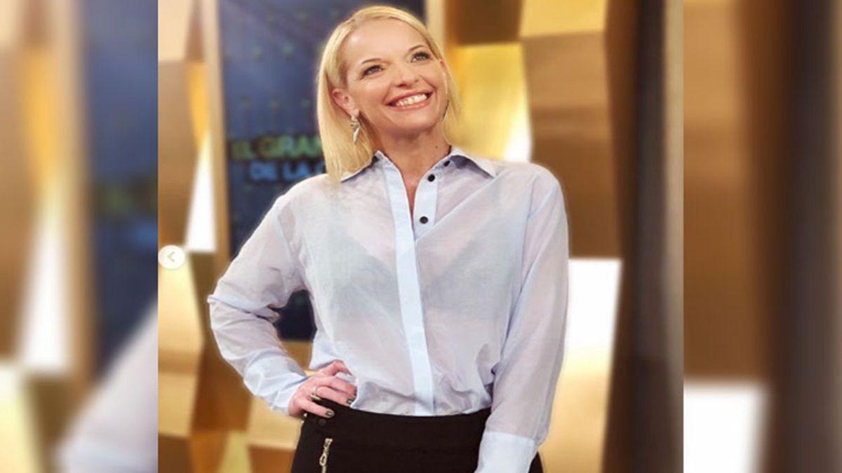 Carina Zampini defiende a Christian Petersen de las burlas