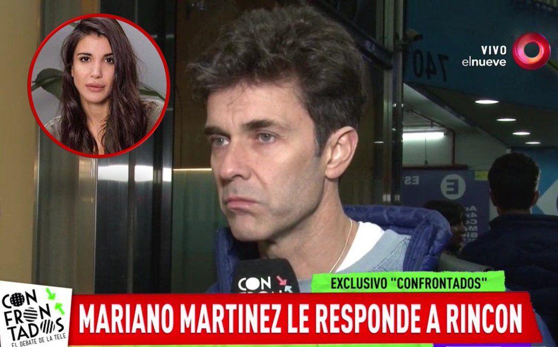 La terminante respuesta de Mariano Martínez a Rincón por el tema de las cachetadas