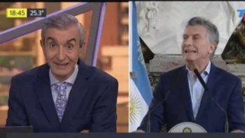 Nelson Castro apuntó contra Mauricio Macri y lo destrozaron en Twitter