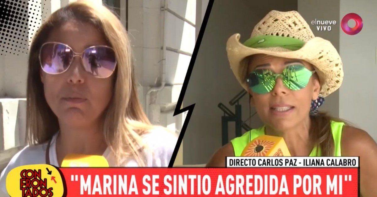 Continúa la guerra entre las hermanas Calabró: Ella no negó el romance categóricamente y lo dejó en duda