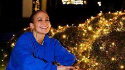 ¡Qué Navidad! Jennifer Lopez engalanó la Nochebuena