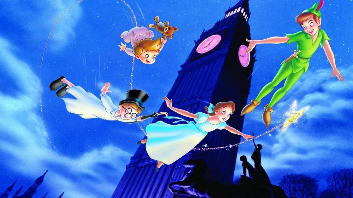 Peter Pan es uno de los títulos de Disney que fueron retirados del catálogo de Disney Plus