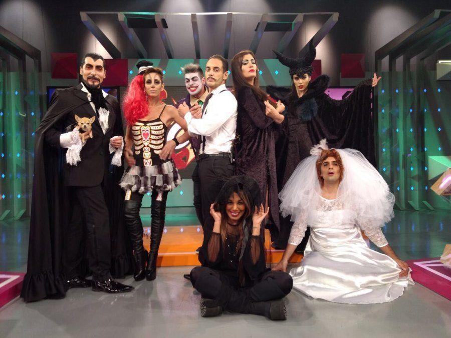 La producción especial de Confrontados por Halloween: todos los looks de la noche de brujas