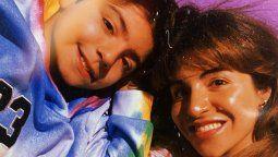 La emoción de Gianinna Maradona por la foto de perfil de WhatsAap de su hijo Benjamín