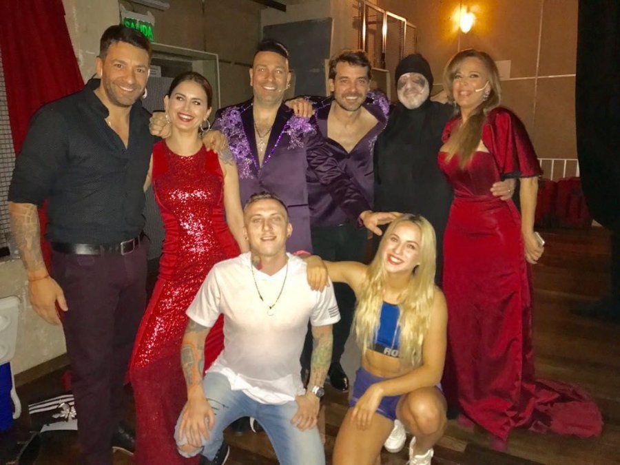 Abracadabra se despidió de su gira con Silvina Luna y el Polaco peleadísimos