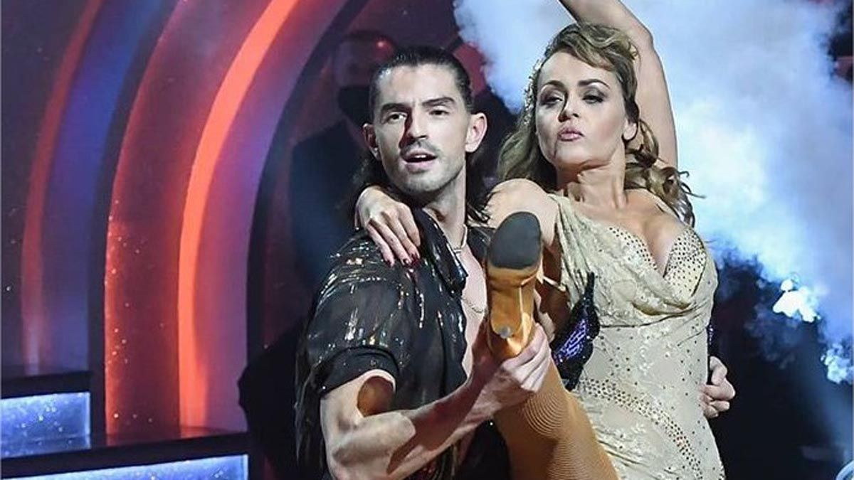 Gaby Spanic se torció un tobillo en Dancing with the Stars