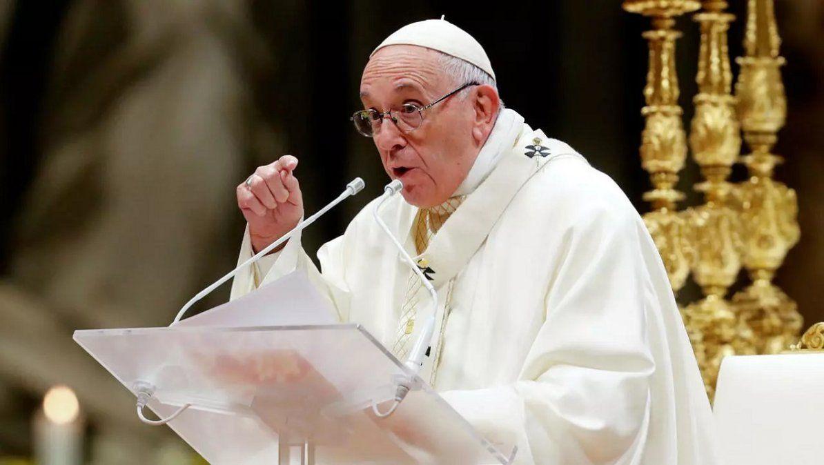El papa Francisco habló sobre el aborto