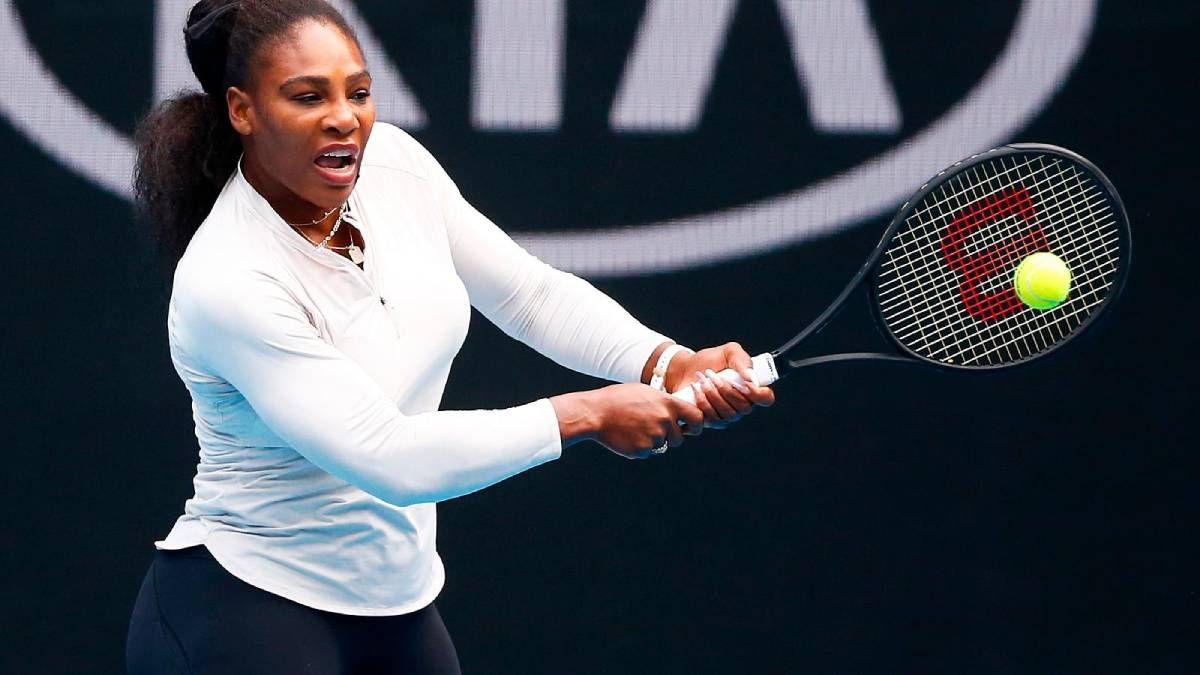 ¡Qué difícil! Serena Williams cuenta que juega con migraña