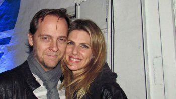 Matías Martin y su esposa, Natalia Graciano