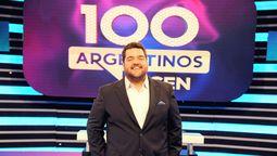 Darío Barassi, conductor de 100 Argentinos Dicen