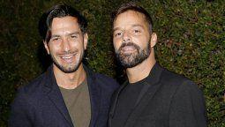 ¡Puro amor! El tierno mensaje de cumpleaños de Ricky Martin a su esposo
