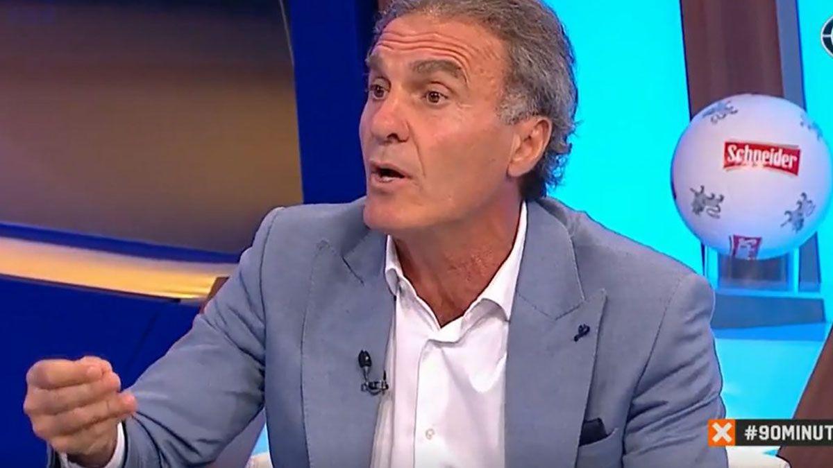 Oscar Ruggeri confirmó que tiene coronavirus