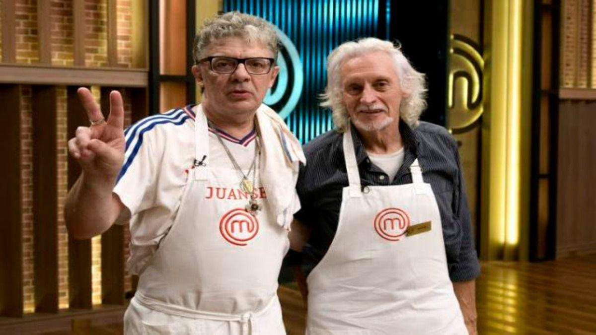 Nito Mestre y Juanse no pudieron con el conejo de Masterchef