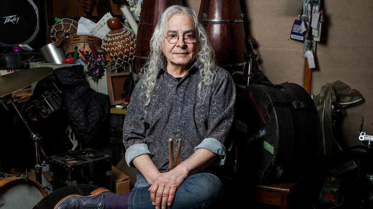 El músico Rodolfo García se desmayó ayer en su casa