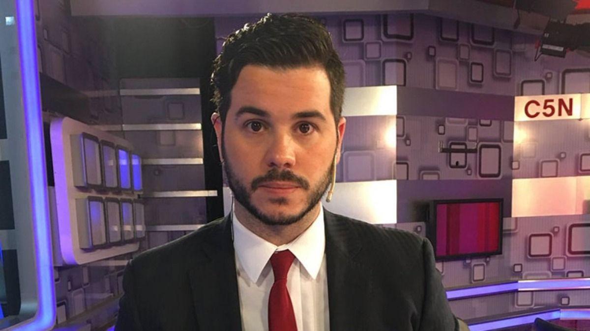 El conductor Nicolás Magaldi por poco fue víctima de un robo en su departamento