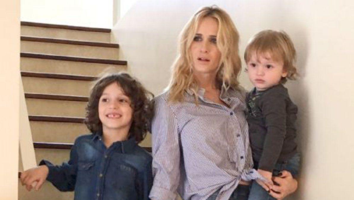 La angustia de Julieta Prandi por el bienestar psicológico y emocional de sus hijos