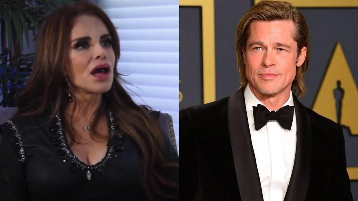 Lucía Méndez contó su decepción al conocer a Brad Pitt