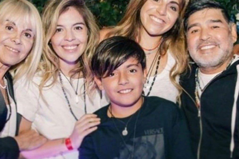 Dalma y Gianinna recordaron a Diego para siempre
