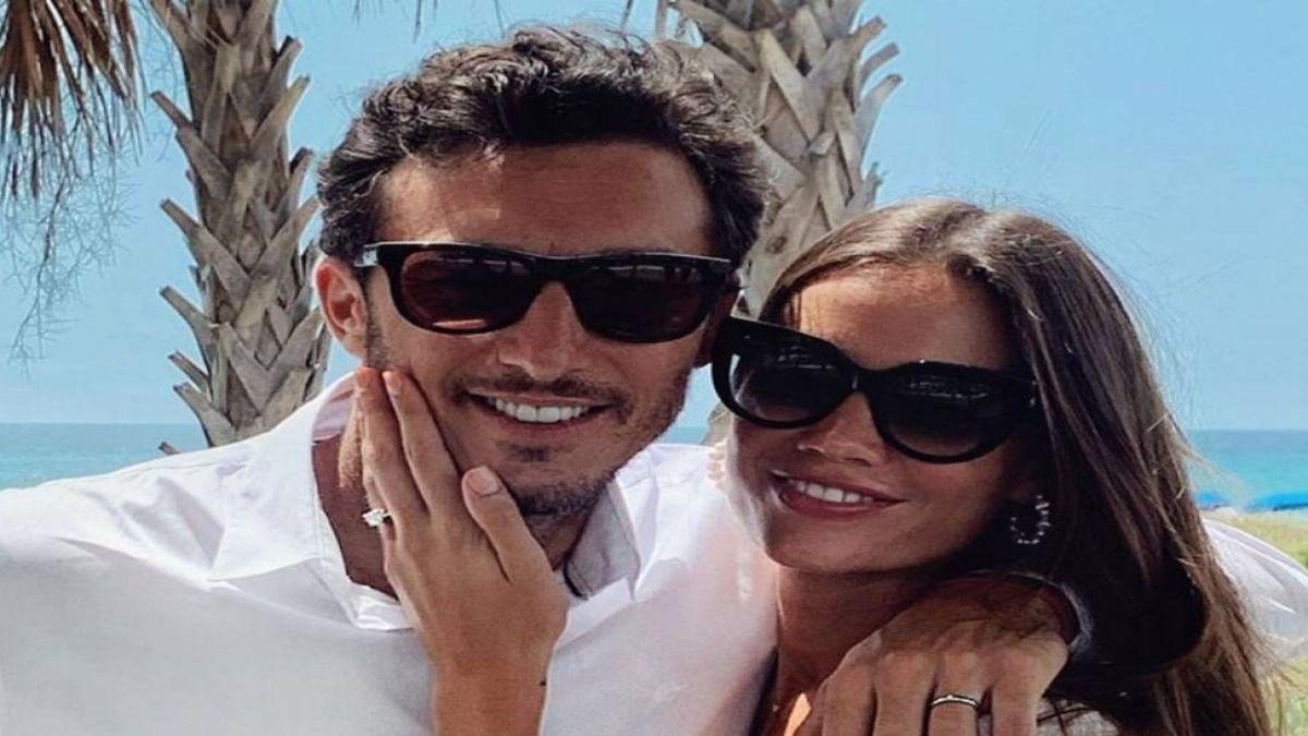 Pico Mónaco y Diana Arnopoulos se casaron tras un corto noviazgo