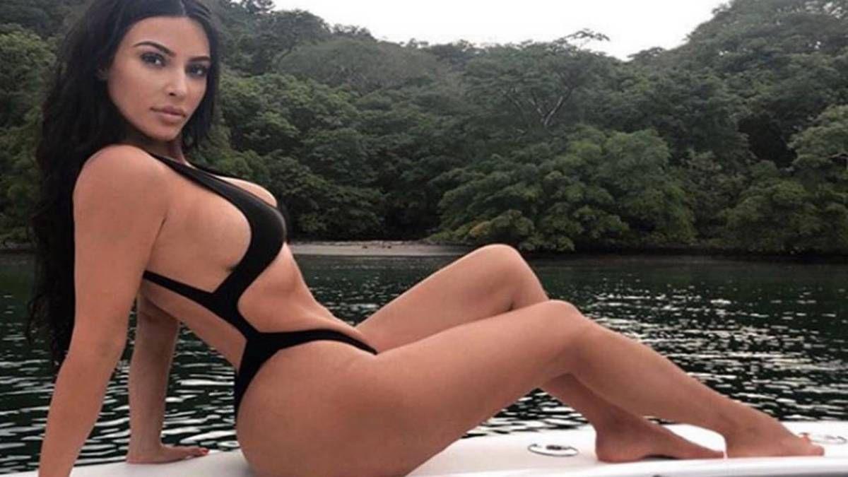 ¡Envidiable! Kim Kardashian y su cuerpo a los 40 años