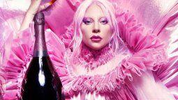 ¡Mucho caché! Lady Gaga es la nueva imagen de un famoso champán
