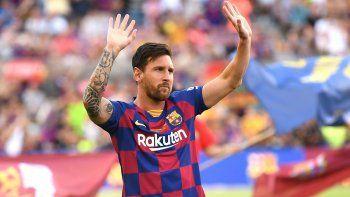 Lionel Messi hizo felices a más de 50.000 niños de Siria