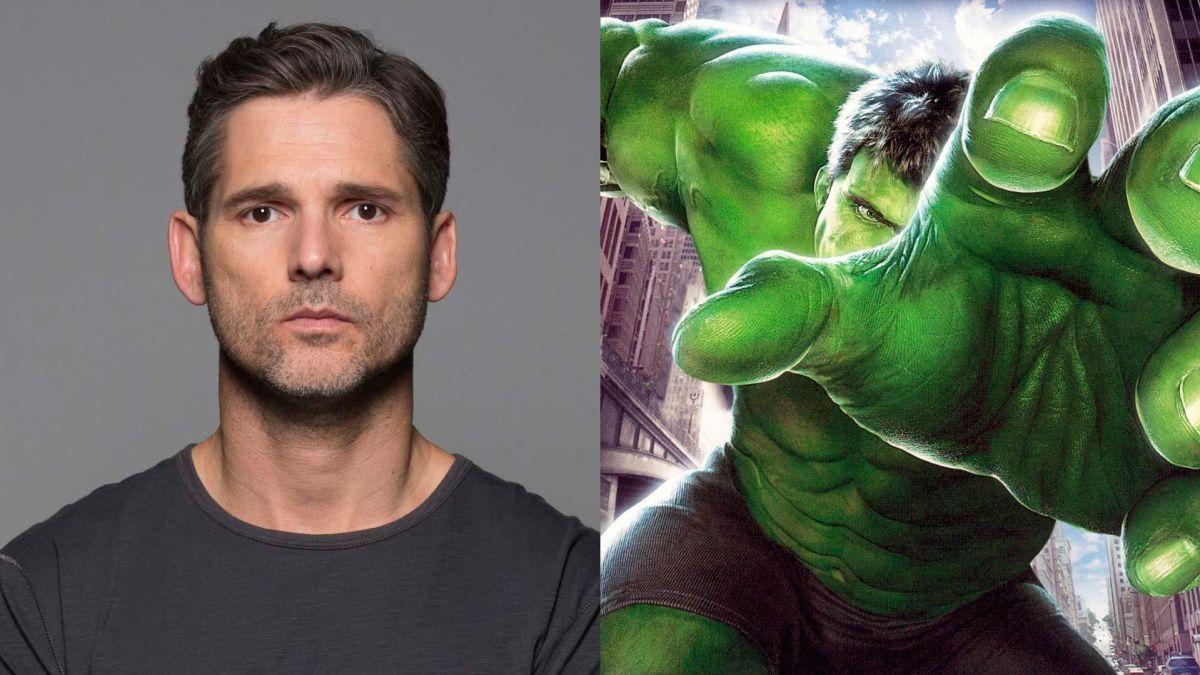 El actor Eric Bana interpretó a Hulk en 2003