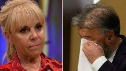 Claudia Villafañe conmovió a Donato De Santis en Masterchef Celebrity
