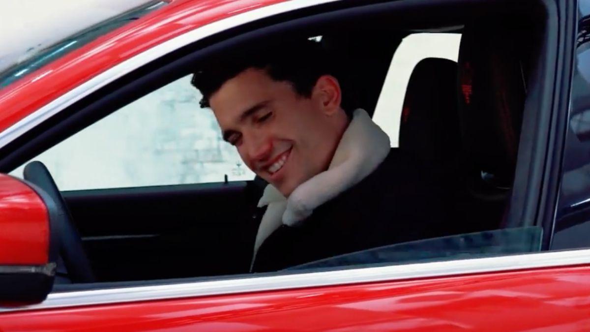 ¡Qué carro! Jaime Lorente se montó en un Maserati