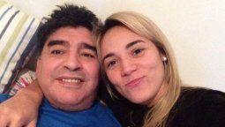 Rocio Oliva y Diego Maradona se separaron hace dos años