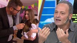 Tartu durísimo con Pampita por no tomar la licencia de maternidad