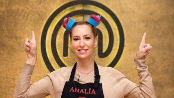 Analía Franchín contó quien podría ser el ganador de Masterchef Celebrity Argentina