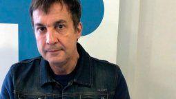 Paulo Vilouta muy triste por la muerte de Mauro Viale