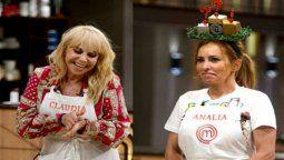 Analía Franchín y Claudia Villafañe a la final de Masterchef Celebrity
