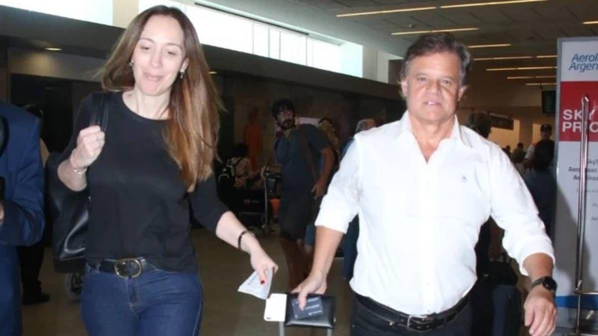 ¡COVID-19 positivo! ¿María Eugenia Vidal contagió a su pareja Quique Sacco?