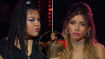 Sin Filtro, Esperanza y Jessica se pelearon en La Voz