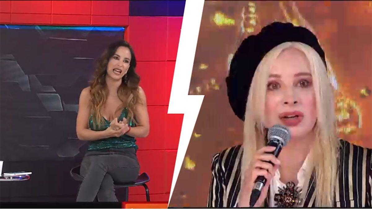 Así recibieron Moria Casán y Nacha Guevara a Lourdes Sánchez en el Cantando