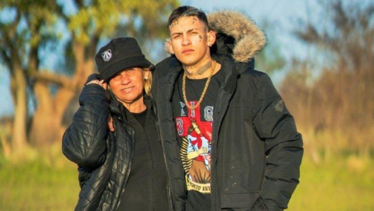L-Gante y su madre
