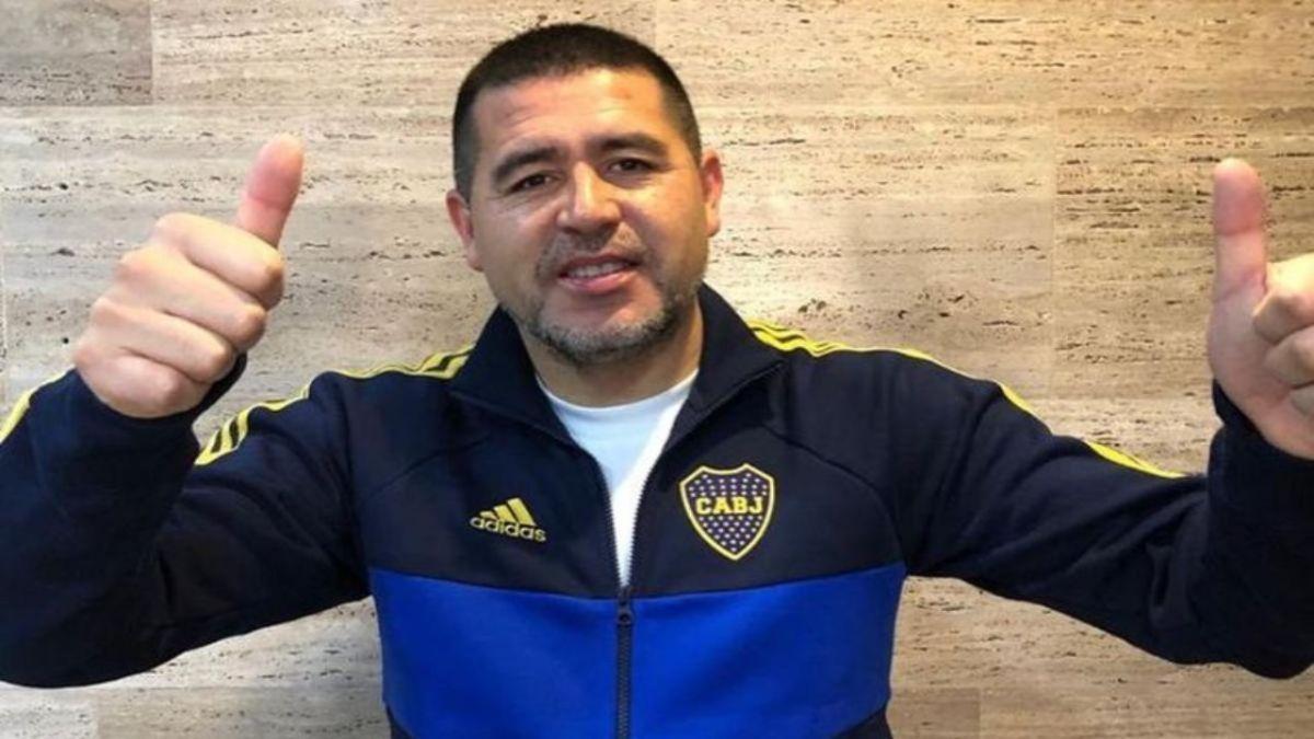 Juan Román Riquelme se hizo viral gracias a un video donde se lo ve entrenando en el predio de Boca Juniors