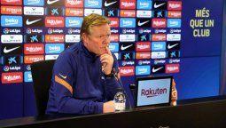 Ronald Koeman es claro: Menos que tenemos a Lionel Messi