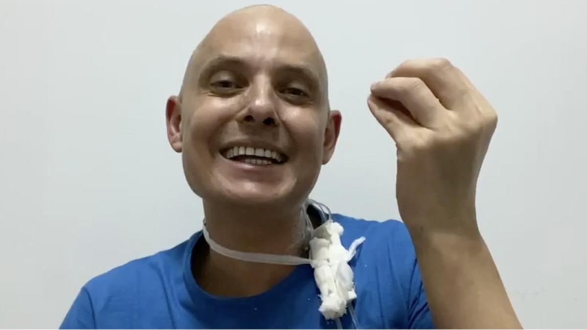 Lío Pecoraro se mostró optimista sobre su leucemia
