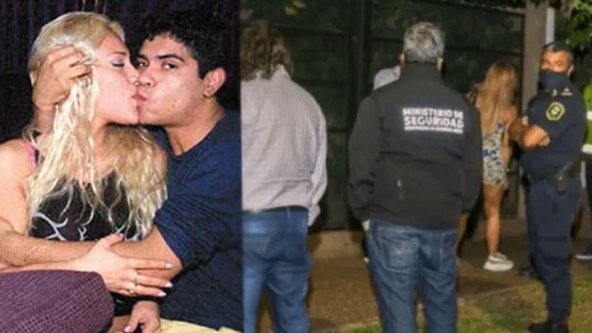 Imputaron a la ex de Walter Olmos por organizar una fiesta clandestina