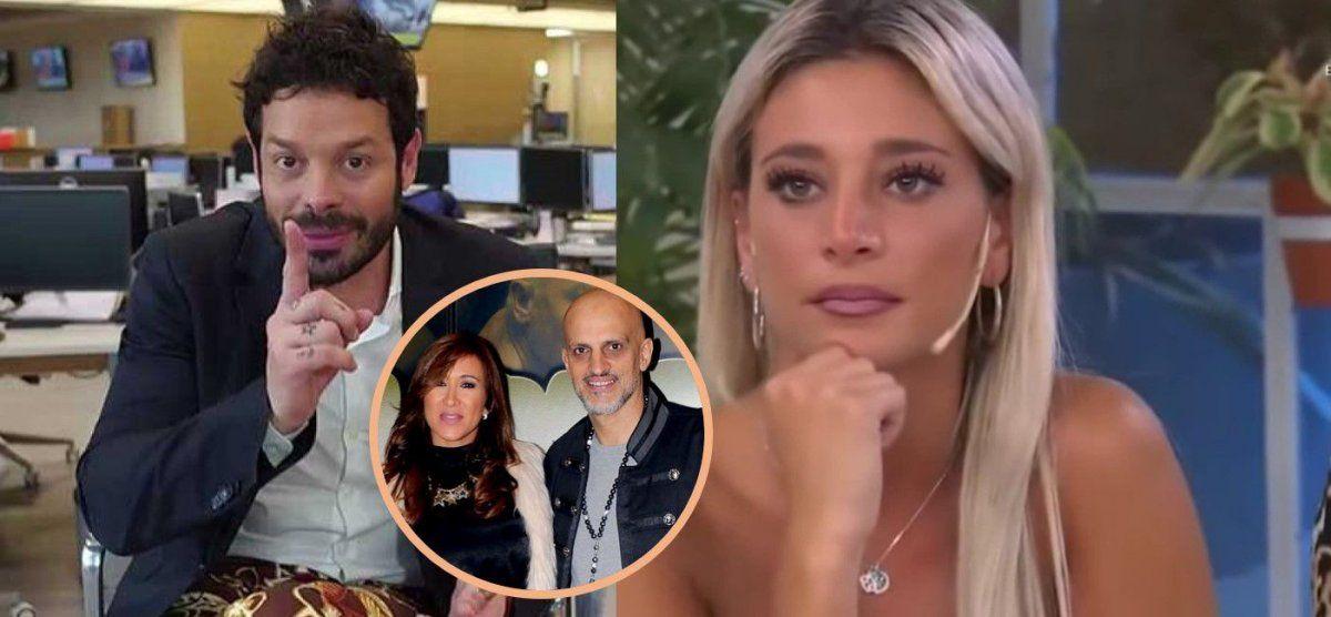 Sol Pérez respondió a los rumores de romance con Guillermo Marín, ex pareja de Valeria Archimó, y se metió con Caprarola: Está mal de la cabeza