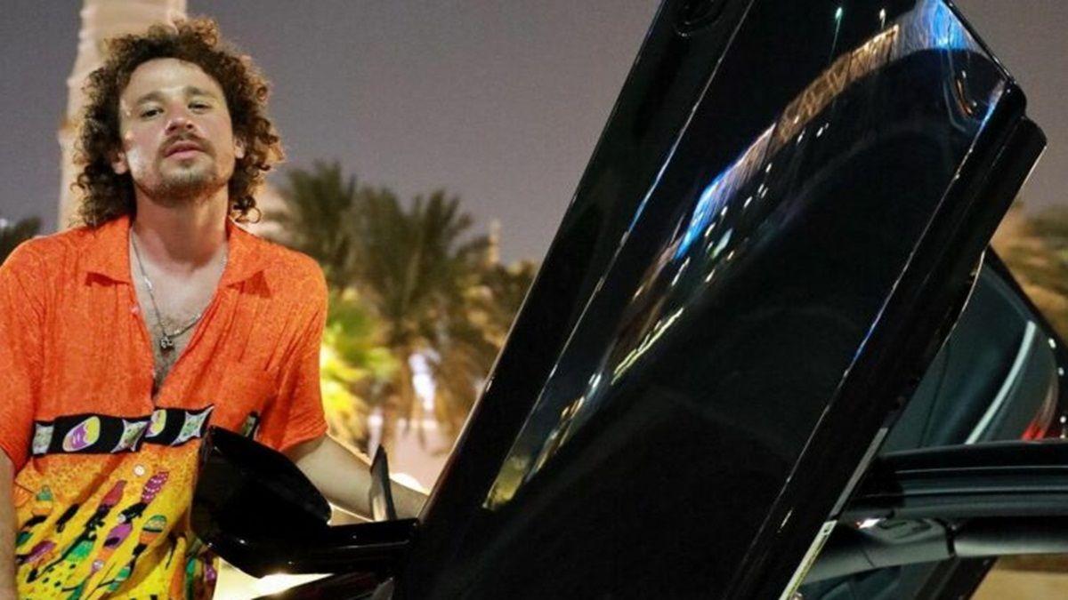 La millonaria suma que pagó Luisito Comunica por chocar un Lamborghini