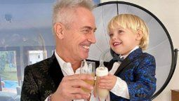 Marley y su hijo Mirko son celebridades no solo de la TV sino tambien de las redes sociales