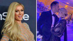 ¿Se lanza al agua? Paris Hilton da pistas de su matrimonio
