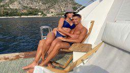 ¡Perdidamente enamorado! Cristiano embelesado con su novia en el Mediterráneo