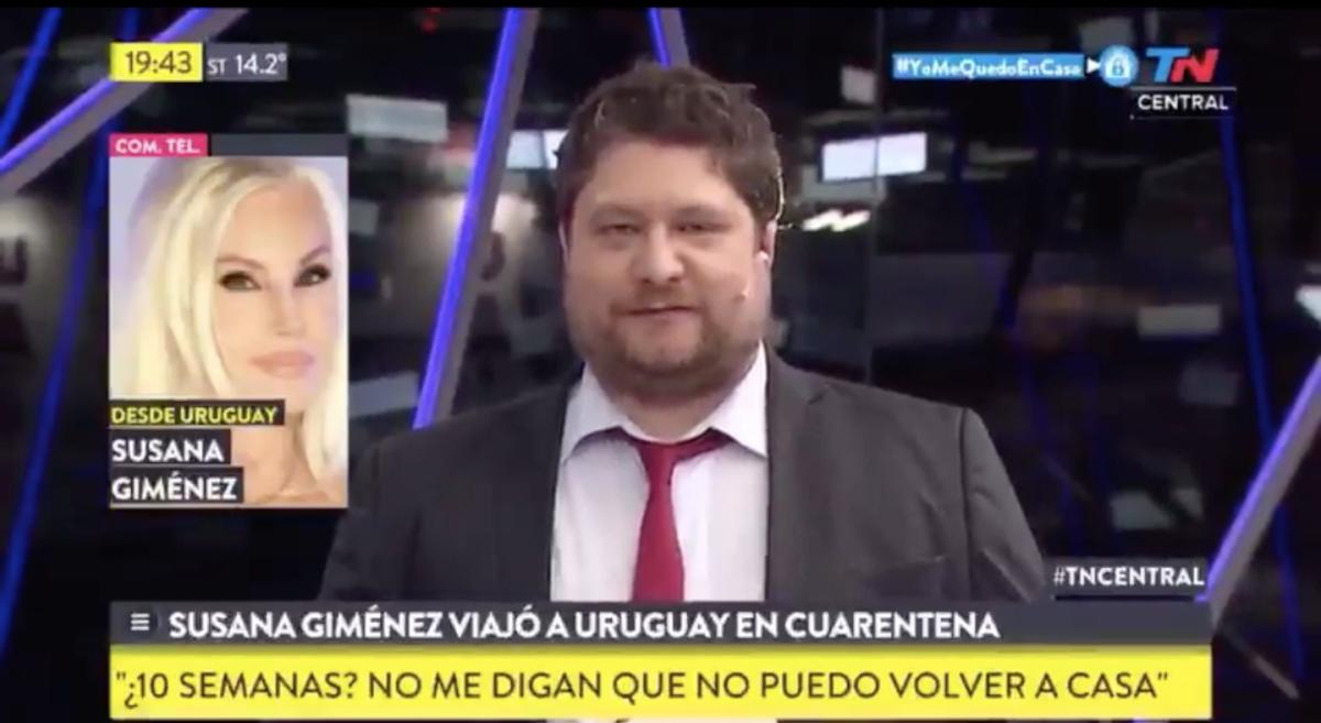 Susana Giménez habló desde Uruguay: Los presos están en la calle y... ¿nosotros vamos a estar presos?